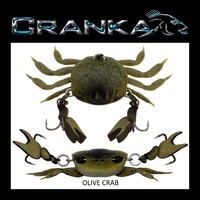 Crab - Treble Hook Model - 50mm -Light 3.9 Gram