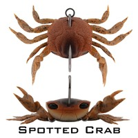 Crab - Single Hook Model - 85mm - 21 Grams